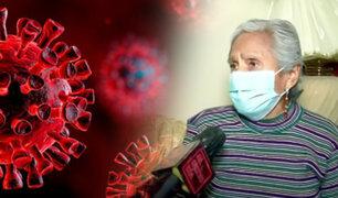 Adultos mayores afectados en pandemia