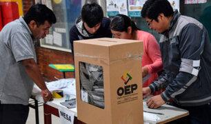 Elecciones Generales: bolivianos eligen hoy a nuevo presidente de la República