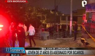 SJL: ciudadano extranjero es asesinado a balazos por presuntos sicarios