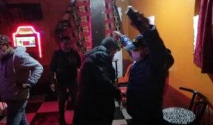 Juliaca: intervienen a más de 30 personas durante operativo contra bares clandestinos