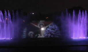 Circuito Mágico del Agua rendirá un homenaje especial al Señor de los Milagros