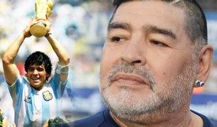 Diego Armando Maradona internado en una clínica de La Plata, según medios argentinos