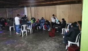 Áncash: intervienen a 80 personas que participan en fiesta pese a restricciones por Covid-19