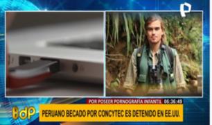 Peruano detenido en EEUU usó correo de institución peruana para compartir pornografía infantil