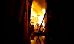 Barrios Altos: incendio destruyó al menos 7 viviendas de una quinta