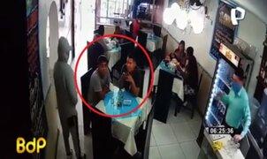 IMPACTANTE: Revelan imágenes del asesinato de dos amigos en Carabayllo