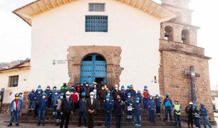 Cusco: inician trabajos de restauración y puesta en valor de la Iglesia  de San Blas