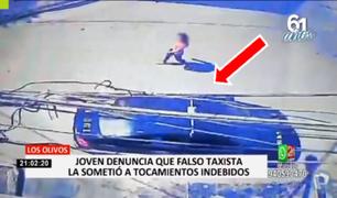 Los Olivos: joven denunció que falso taxista le realizó tocamientos indebidos