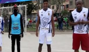 El Agustino: exfutbolistas participaron de campeonato de fulbito pese a prohibiciones