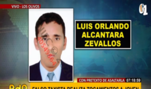 Identifican a falso taxista que agredió a joven con tocamientos indebidos