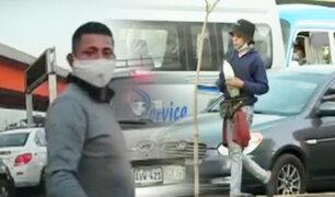 Caen falsos limpiadores de parabrisas que asaltaban en semáforos