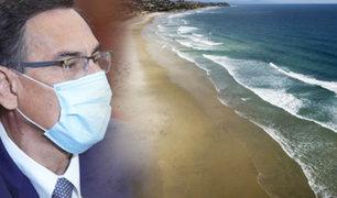 PCM decidirá hoy si cerrará playas en verano