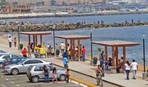 Miraflores, Barranco y Chorrillos mantienen posición de cerrar de playas