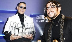 Daddy Yankee y Bad Bunny se llevan 7 premios Billboard cada uno