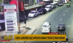 El Agustino: banda asaltaba a conductores y transeúntes en Av. César Vallejo