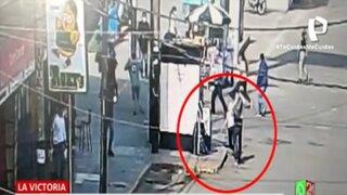 La Victoria: Imágenes impactantes de un hombre que asesinó a su expareja y luego se suicidó