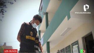 Los Olivos: detienen a delincuentes abordo de auto que habría participado de atraco en pollería