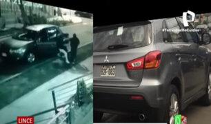 Lince: Encañonan a conductor y le roban su camioneta en puerta edificio