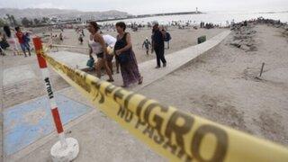 Alcaldes piden presupuesto al Ejecutivo para controlar playas los fines de semana