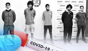 Acusados de violación grupal esperan pruebas COVID-19 antes de su traslado