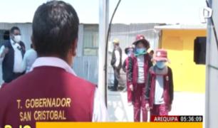 Arequipa: así son los protocolos en reinicio de clases escolares