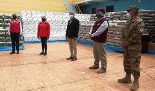 Arequipa: Midis entrega alimentos para población vulnerable por la pandemia de Covid-19