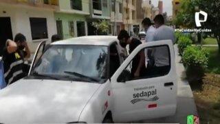 PNP detuvo a banda de falsos trabajadores de Sedapal que robaban viviendas