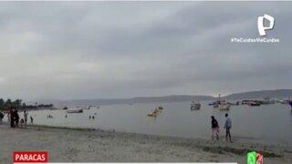 Paracas: Balneario el Chaco recibe a visitantes cumpliendo con los protocolos de ley