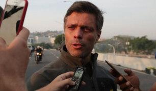 Líder opositor Leopoldo López abandonó Venezuela y viajó a España
