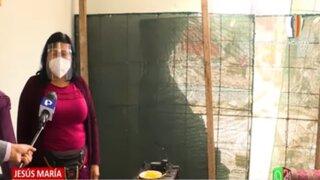Jesús María: Construcción de edificio deja en escombros vivienda vecina