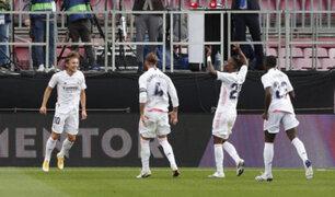 Clásico español: Real Madrid derrotó 3-1 al Barcelona en el Camp Nou