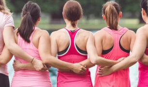 Advierten que no practicar ejercicio aumenta el riesgo de cáncer de mama