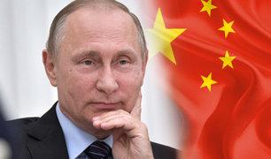 """Putin estima """"posible"""" que Rusia y China concreten una alianza militar"""