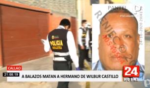 Callao: a balazos asesinan a hermano de Wilbur Castillo