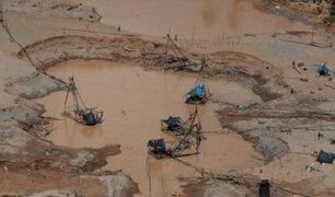 Madre de Dios: destruyen campamento y maquinaria utilizada en la minería ilegal