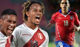 Chile confirmó su primera baja para el duelo ante Perú