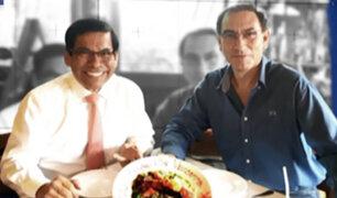 Panorama reveló la estrecha relación entre el presidente Vizcarra y el exministro Hernández