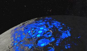 NASA confirma hallazgo de agua en la Luna por primera vez
