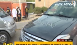 Callao: vecinos temen declarar por crimen de hermano del 'Loco Wilbur'