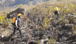 Cusco: tras arduas labores controlan incendio forestal en alrededores de Machu Picchu