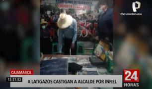 Cajamarca: ronderos castigan a alcalde por ser infiel a su esposa