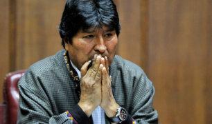 Evo Morales: Justicia boliviana anula orden de detención contra expresidente