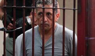 Antauro Humala fue recluido en el penal de Ancón I tras realizar coordinaciones políticas