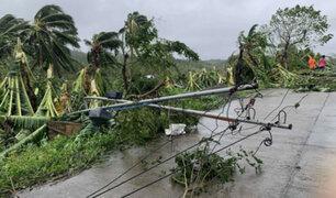 Muerte y destrucción deja tifón Molave  a su paso por Filipinas