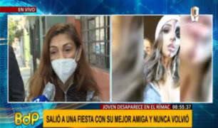 Mujer denuncia denigrante trato policial tras denunciar desaparición de su hija