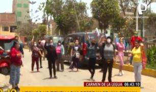 Carmen de La Legua: vecinos llevan una semana sin agua en plena pandemia
