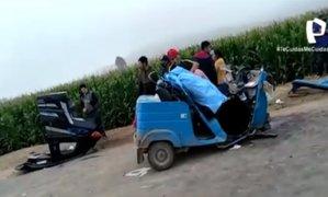 Chofer de camioneta se da a la fuga tras arrollar y matar a panadero en Cañete