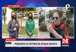 Periodista fue agredida tras pedirle a un hombre que se ponga mascarilla