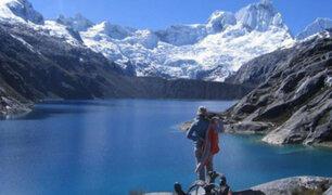Áncash: cientos de turistas visitan Parque Nacional Huascarán tras reapertura