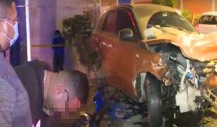 Niño y mototaxista mueren en choque con camioneta en Chorrillos